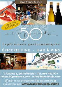 bar-restaurant 50 Peniscola