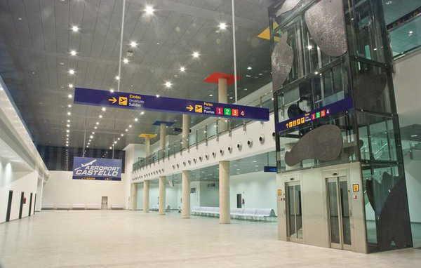 Le 11 décembre 2014 maintenu comme date d'ouverture de l'aéroport de Castellón ouvrira le 11/12/2014