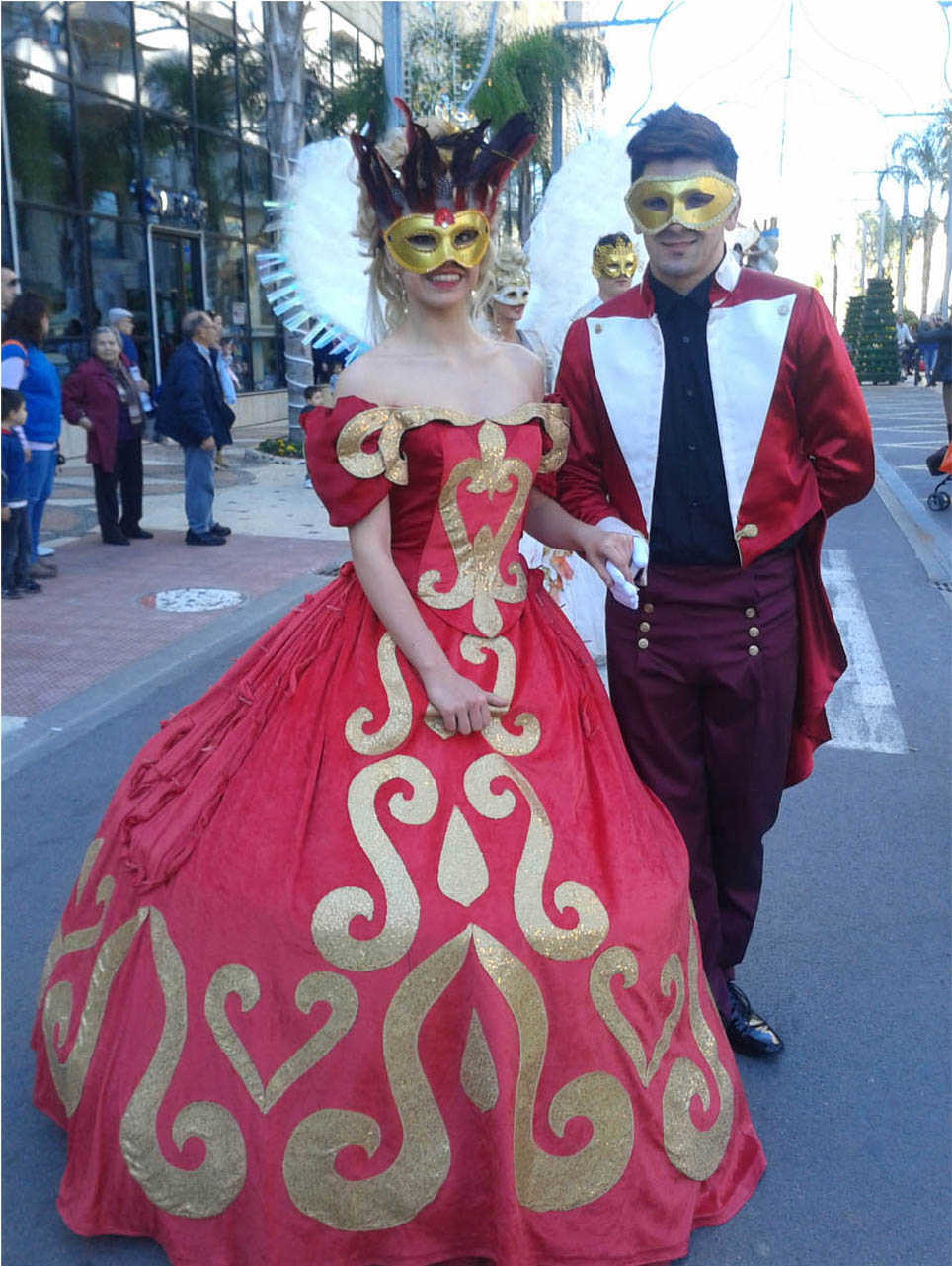 Oropesa - La Saint Valentin et carnaval marina d'or