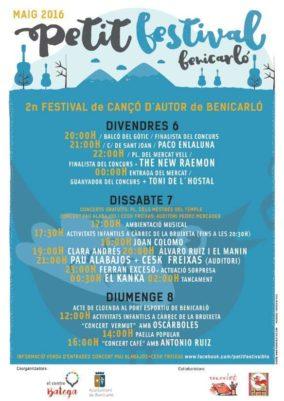 petit festival de Benicarlo