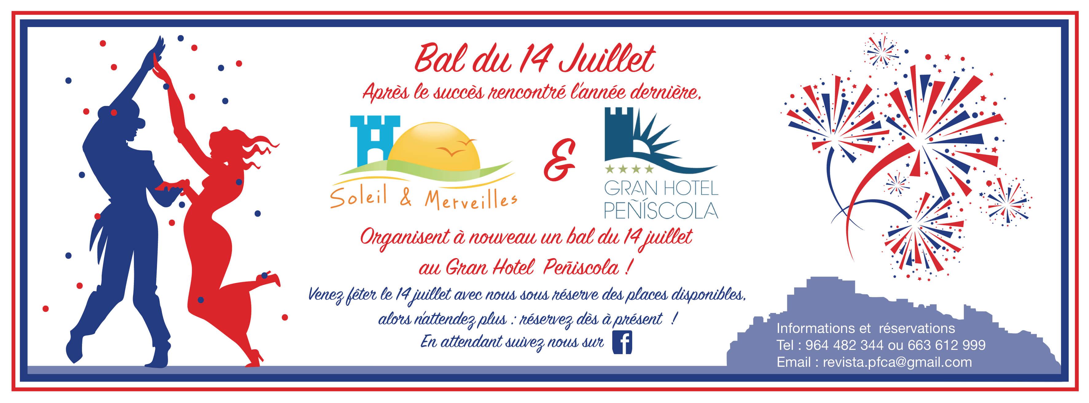 Rencontres francophones - Evenements à venir - Fête du 14 juillet