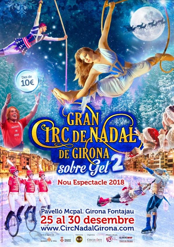 Évènement à Girone, Grand cirque de noël sur glace, costa azahar